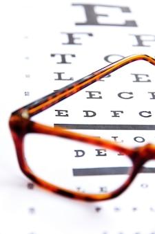 Optometrie concept