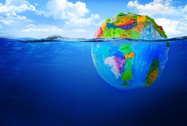 Opwarming van de aarde concept