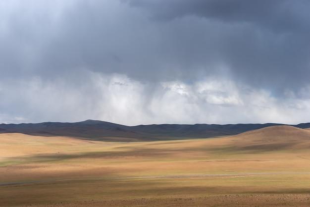 Opwarming van de aarde zorgt voor een dor landschap op aarde