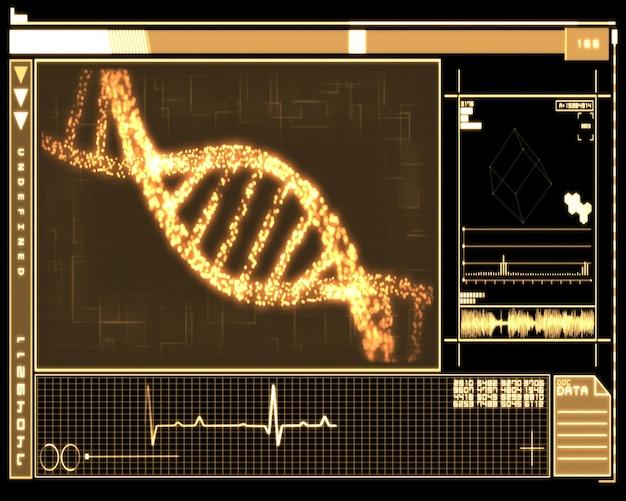 Orange dna helix-technologie