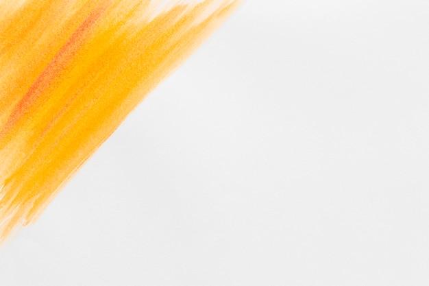 Oranje aquarel verf kopie ruimte
