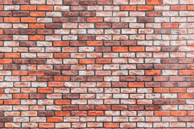 Oranje bakstenen muur patroon textuur