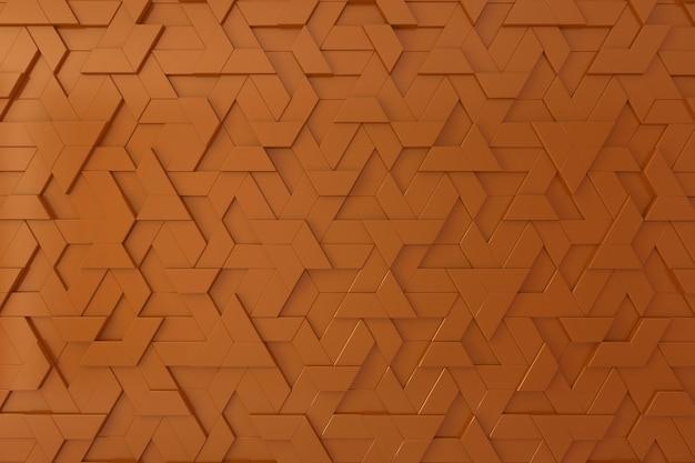 Oranje driedimensionale achtergrond