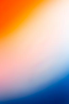 Oranje en blauwe achtergrond