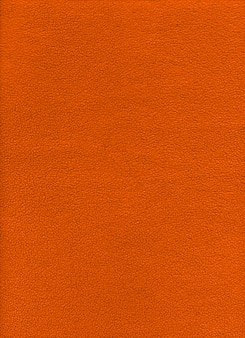 Oranje fleece achtergrondstructuur. close-up bekijken