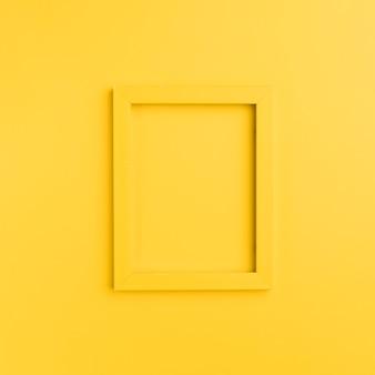 Oranje frame op oranje achtergrond