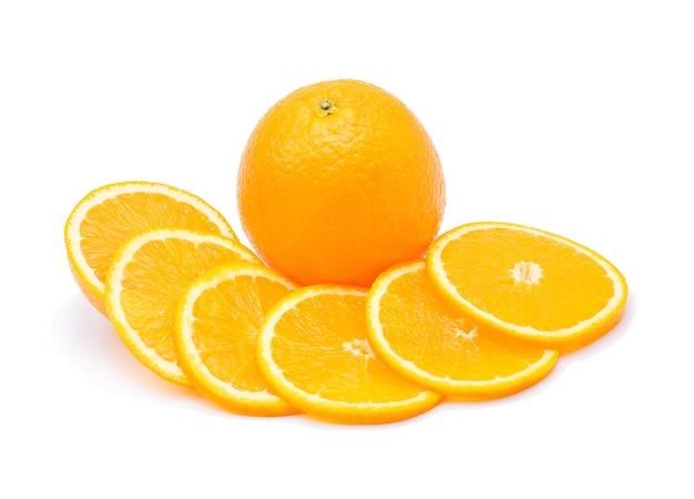 Oranje fruit geïsoleerd