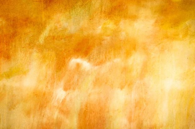 Oranje gepleisterde muur