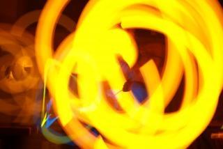 Oranje glowstringing
