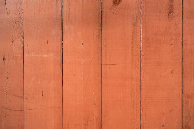 Oranje houten muur achtergrond en textuur.