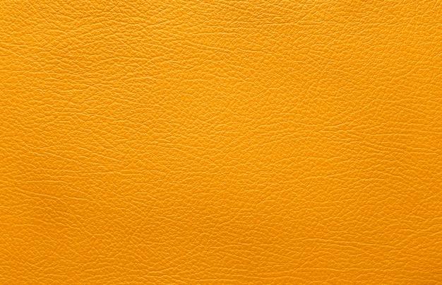Oranje lederen textuur