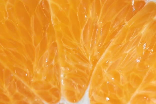 Oranje organisch close-up als achtergrond