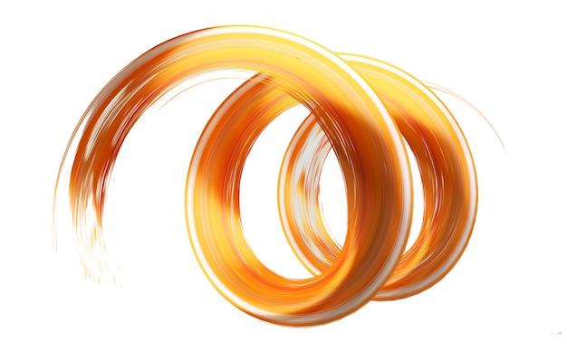 Oranje penseelstreek