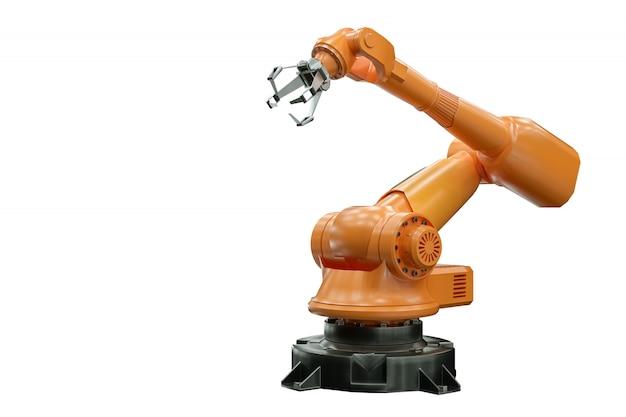 Oranje robotarmmanipulator