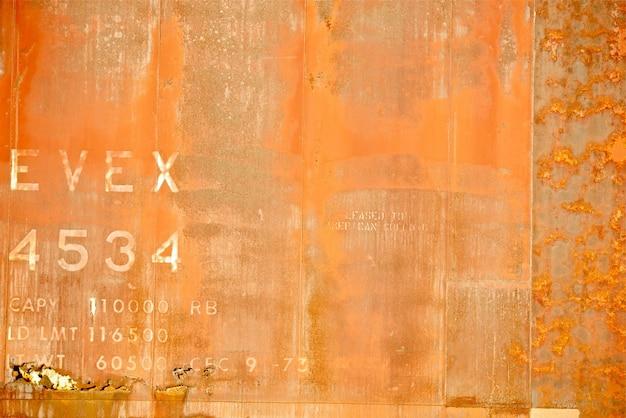 Oranje roestige achtergrond