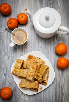 Oranje taart