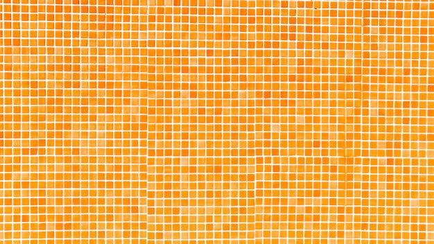 Oranje zwembad mozaïek achtergrond
