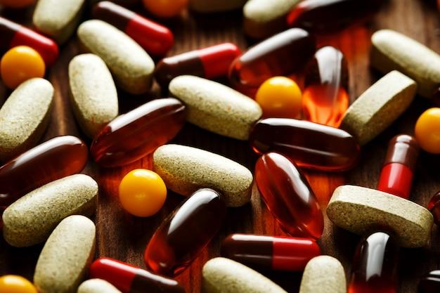 Organische dieetbehandeling, vitaminecapsules