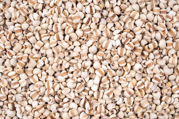 Organische gierstkorrels natuurlijke textuur
