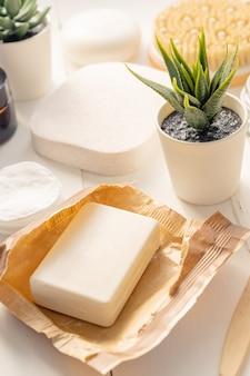 Organische spa-cosmetica en accessoires voor persoonlijke hygiëne