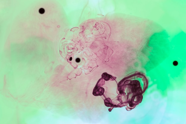 Organische vlekken met gemengde kleuren