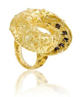 Originele dames ring van goud