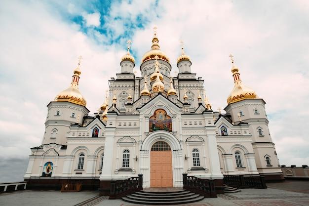 Orthodoxe kerk in pochaiv ukraina