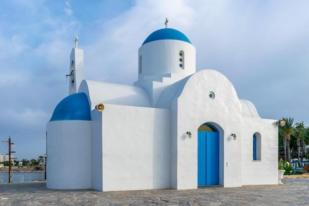 Orthodoxe tempel gebouwd in de griekse stijl