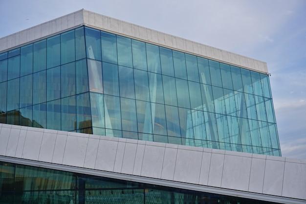 Oslo opera house, ontworpen door snohetta.