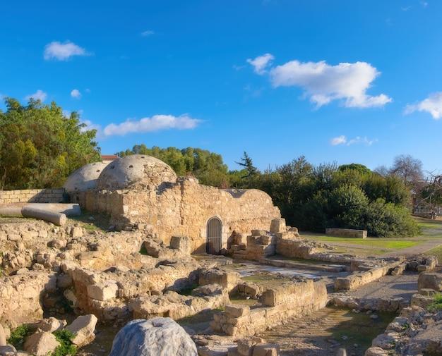 Ottomaanse baden op paphos, cyprus