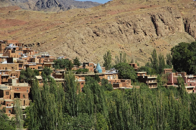Oud abyaneh-dorp in iran