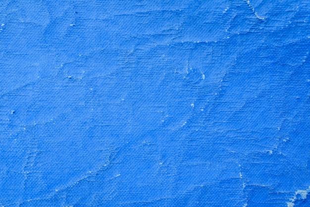 Oud blauw canvas. textuur. achtergrond.