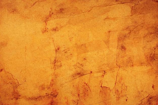 Oud bruin papier grunge voor achtergrond. abstracte vloeibare koffie kleur textuur.