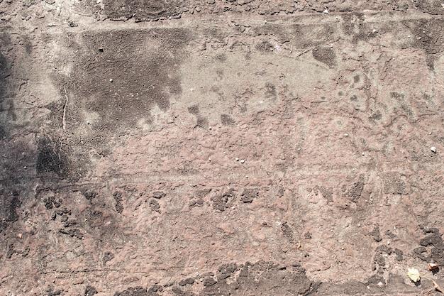 Oud dakbedekkingsmateriaal in de hars