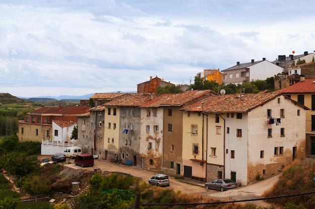 Oud district in haro. la rioja