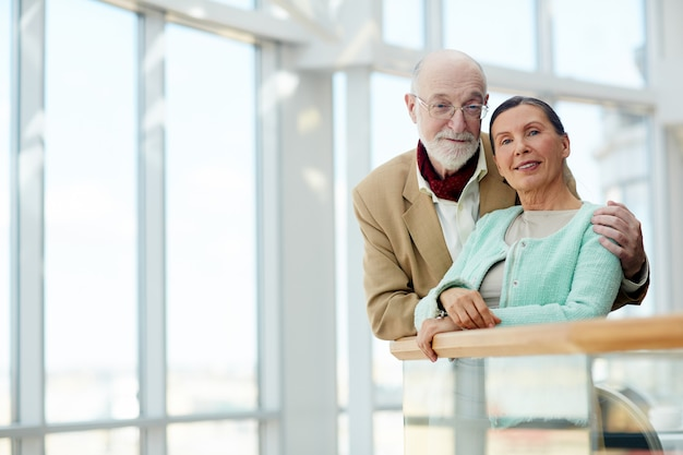Oud echtpaar