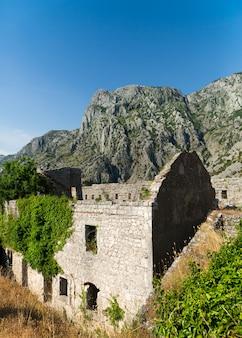 Oud gebouw in montenegro