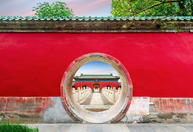 Oud gebouw in peking