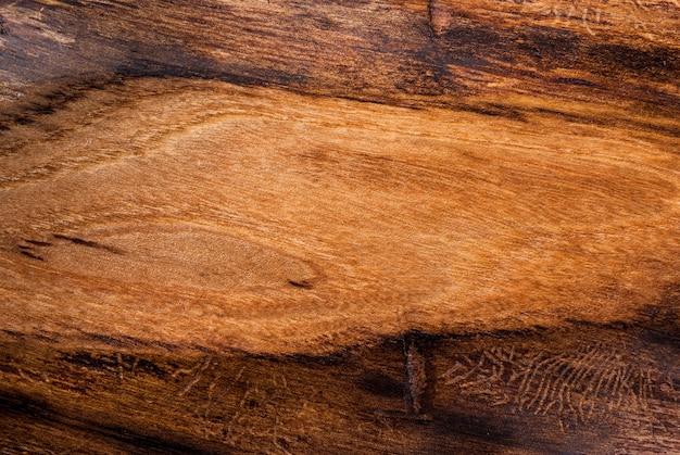 , oud getextureerd hout, iep, bovenaanzicht copyspace