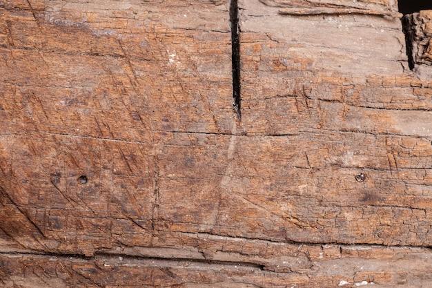 Oud hout gebarsten en stof achtergrondstructuur.