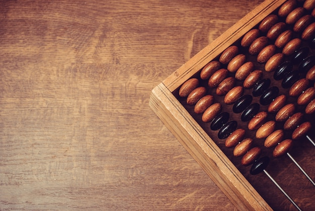 Oud houten telraam