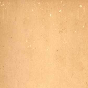 Oud karton met splattertextuur