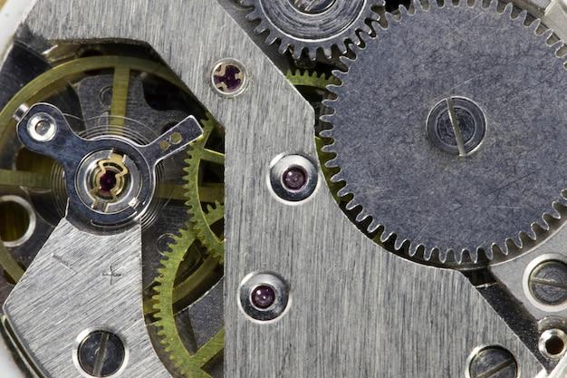 Oud mechanisch uurwerk