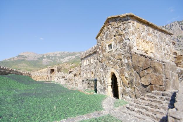 Oud middeleeuws kasteel