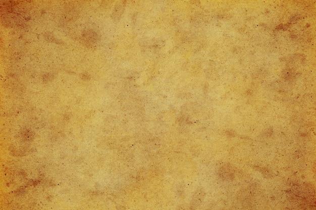 Oud pakpapier grunge abstracte vloeibare koffie kleur textuur.
