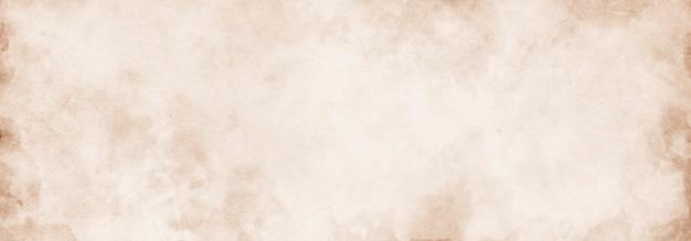 Oud papier, achtergrond met beige papier textuur kopie ruimte en ruimte voor tekst voor ontwerp