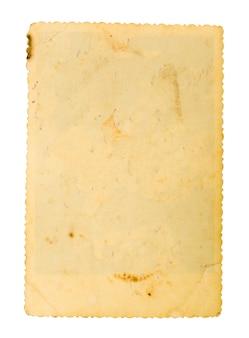 Oud papier op wit