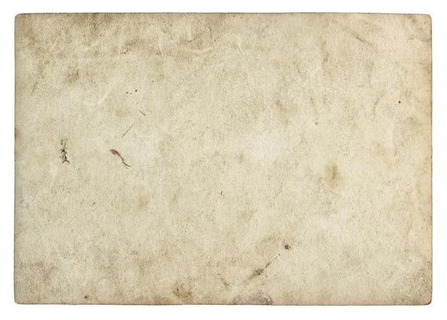 Oud papier textuur. vintage fotolijst geïsoleerd