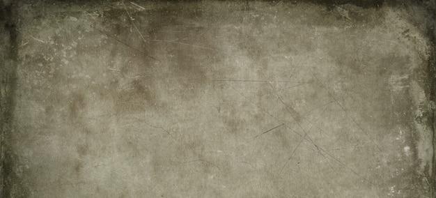 Oud perkamentpapier. horizontaal bannertextuurbehang