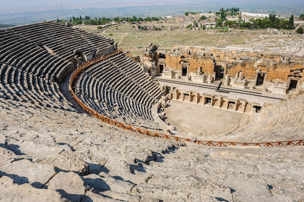 Oud theater in hierapolis